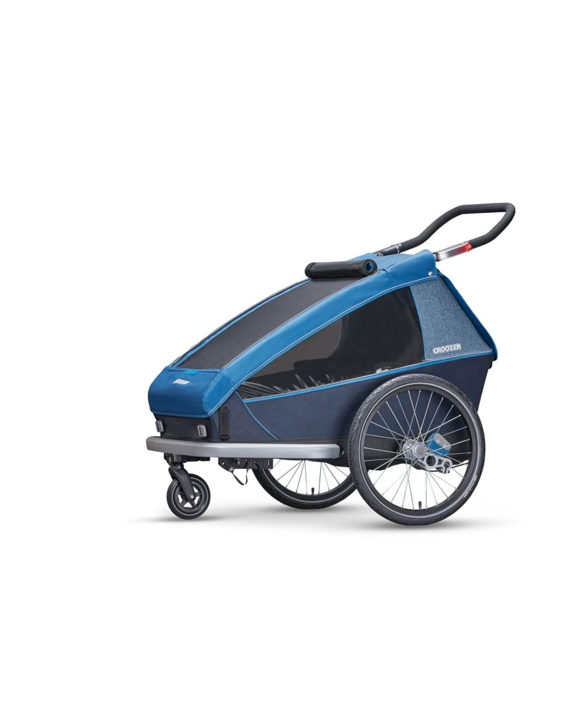 croozer kid plus for 2 blauw 3 in 1. Black Bedroom Furniture Sets. Home Design Ideas
